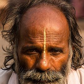 Sukhhi Baba by Rakesh Syal - People Portraits of Men