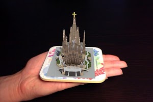Screenshot of Sagrada Familia AR 3D