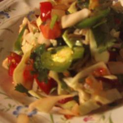 Cabbage, Tomato and Onion Salad