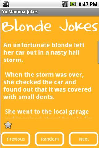 【免費漫畫App】Blonde Jokes-APP點子