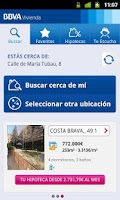 Screenshot of BBVA Vivienda