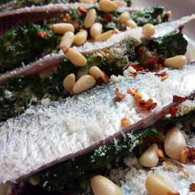 Spinach Stuffed Sardines
