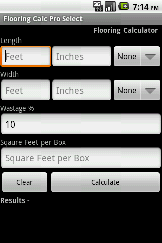 Flooring Calc Pro Select