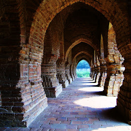 Arches held strong by Mrinmoy Ghosh - Buildings & Architecture Architectural Detail (  )