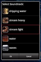 Screenshot of Water Sounds