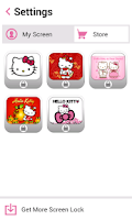 Screenshot of Hello Kitty Screen Lock
