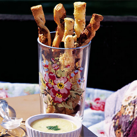 Parmesan And Herb Cheese Straws Recipes — Dishmaps