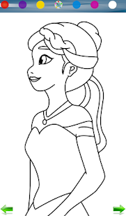 Coloring: Frozen- screenshot thumbnail