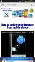 Screenshot of Android Firmware Updates
