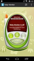 Screenshot of Baby Monitor & Alarm trial
