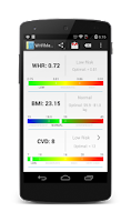 Screenshot of WHRMeter  support version