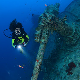 SS Thistlegorm part.4 by Damir Zurub - Landscapes Underwater ( ss thistlegorm, red sea, wreck, diving )