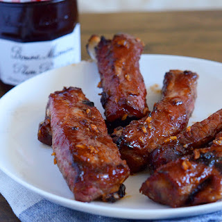 Chinese Pork Ribs with Plum Preserves