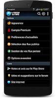 Screenshot of Comptoir de l'Info