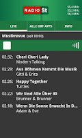 Screenshot of ORF Radio Steiermark