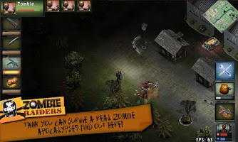 Screenshot of Zombie Raiders Classic