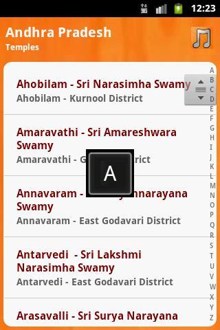 MyPlace Temples Andhra Pradesh