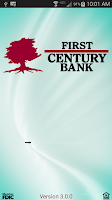 Screenshot of First Century Bank Mobile Bank