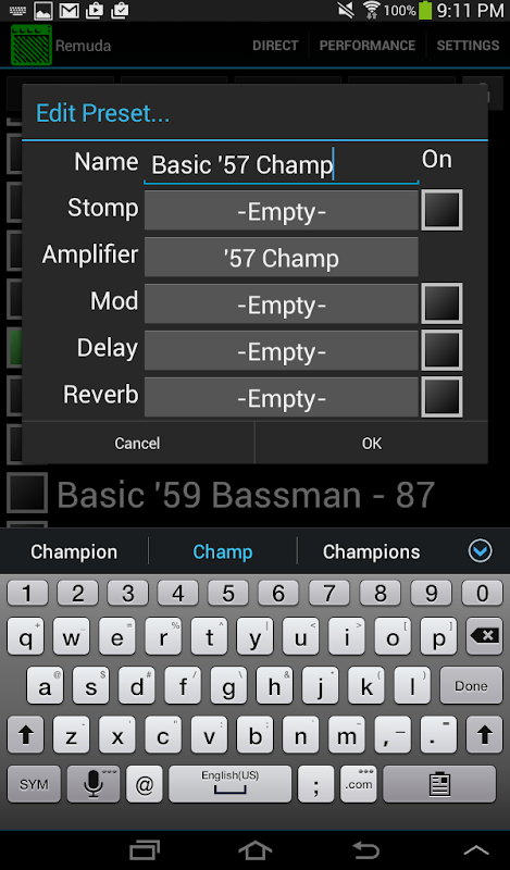 download: remuda for fender mustang amps apk + obb data - android apps