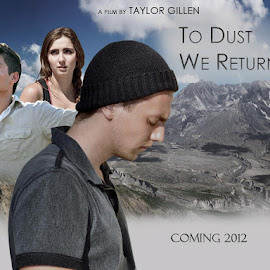To Dust We Return by Taylor Gillen - Typography Words ( illustration, movie, typography, film poster, mount st. helens )