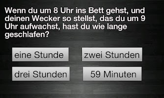Screenshot of Idiotentest - Deutsch