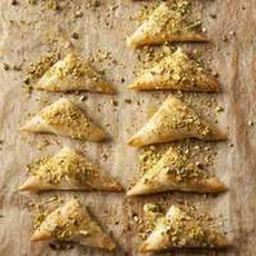 Feta & Pistachio Triangles