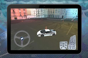 Screenshot of Parking Lot Drift Racer 3D
