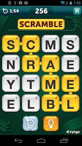 scramble-with-friends-free for android screenshot