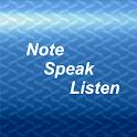 NoteSpeakListen para sordos icon