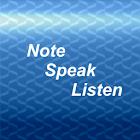 Note, Speak, Listen for Deaf icon