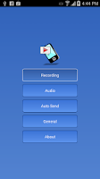Screenshot of Galaxy S4 & S5 Call Recorder
