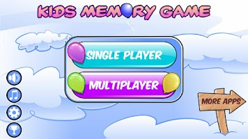 Screenshot of Kids Matching Game – Baloons