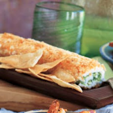 Avocado and Cream Cheese Roll (Rollo de Queso y Aguacate)