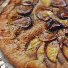 Nectarine, Fig, And Almond Crostata
