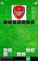 Screenshot of Guess the football club