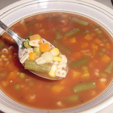 Campbell's Abc's Vegetarian Vegetable Soup