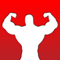 livre audio - body building icon