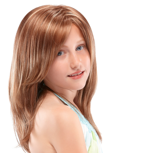 Girl wig for children