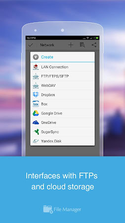 File Manager (File transfer) 2.5.2 screenshot 537604