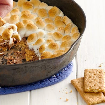 Peanut Butter Cup S'mores Dip