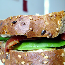 Peanut, Bacon and Avocado Sandwich