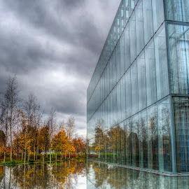 Jaqua Center by Mike Shaw - Buildings & Architecture Other Exteriors ( hdr )