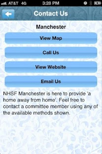NHSF Manchester - screenshot