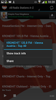 Screenshot of Austria Radio Music & News
