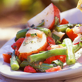 Herbed Potato Salad Green Beans Tomatoes Recipes