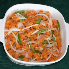 Awesome Marinated Sweet Potato Salad