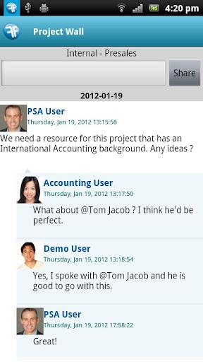 PSA Timecards for Salesforce