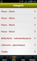 Screenshot of Pizza La Stella
