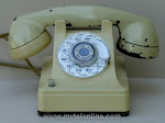 Desk Phones - Western Electric 410 Ivory