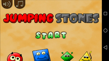 Screenshot of Jumping Stones (logic)